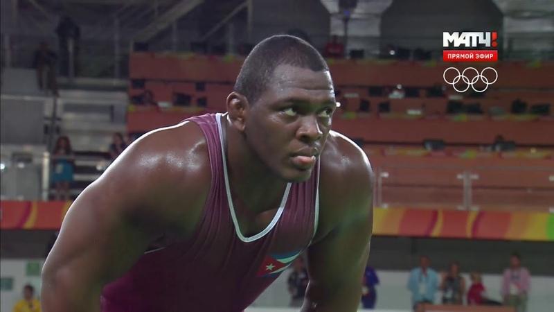 РИО 2016 Греко римская борьба 130 кг Семенов Россия Лопес Куба