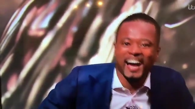Evra funny 'I love this game' speech live on ITV