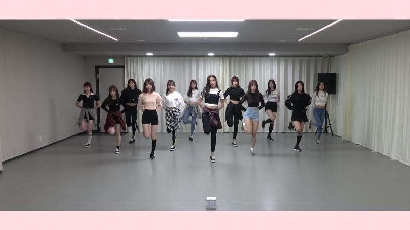 ‹ Practice IZ٭ONE 아이즈원 - PICK ME Dance Practice 12.ver ›