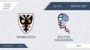 AFL18. England. Premier League. Day 25. Bolton - Wimbledon