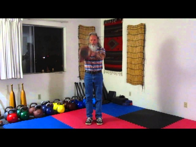 KB Half Moon Swing Drill with the Zenkahuna