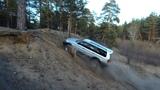 Lexus LX 470, Discovery 4,  Pajero Sport,  Nissan Mistral. Песочные горки и диагоналки