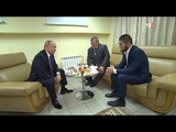 Встреча Хабиба Нурмагомедова и Путина