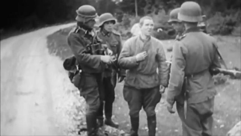 Как красноармеец Овчаренко зарубил топором 2 немецких офицеров и убил 21 фашиста