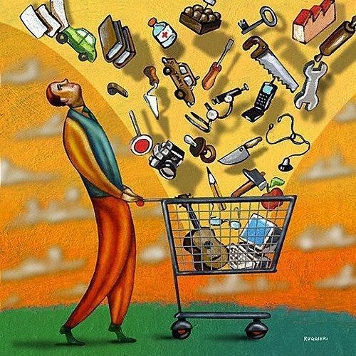 Краткий курс потребительства. Многие персонажи весьма узнаваемы.  1.