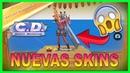 💥 Probando【NUEVAS SKINS y NUEVO DESTRUCTOR】▷ PASE FLEX Nueva Temporada ✅ Creative Destruction 👀👏