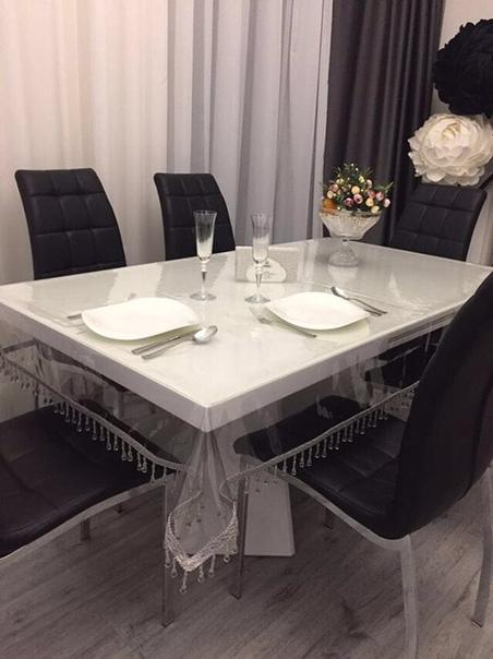 поймут только женщины важная информация для тех, кто хочет украсить стол и сделать свой интерьер неповторимым сегодня я напишу, почему силиконовые скатерти, это лучшее решение для вашей кухни.