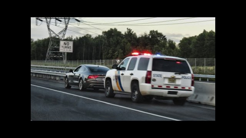 Борьба с лихачами в России и США | What do with reckless drivers in the Russia and USA