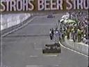 Найджел Мэнселл, герои не сдаются. Толкал свой болид до самого финиша . Даллас -1984.