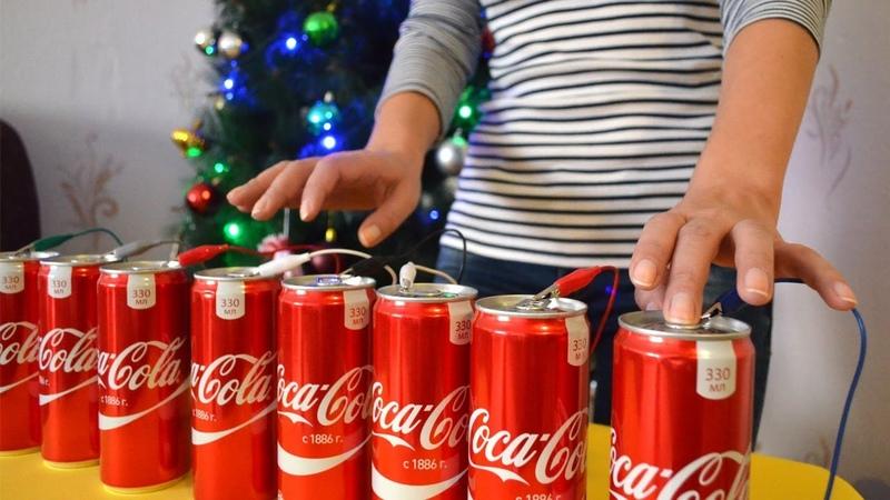 Как будет звучать Джингл Белс на Кока Кола. Праздник к нам приходит новыйгод