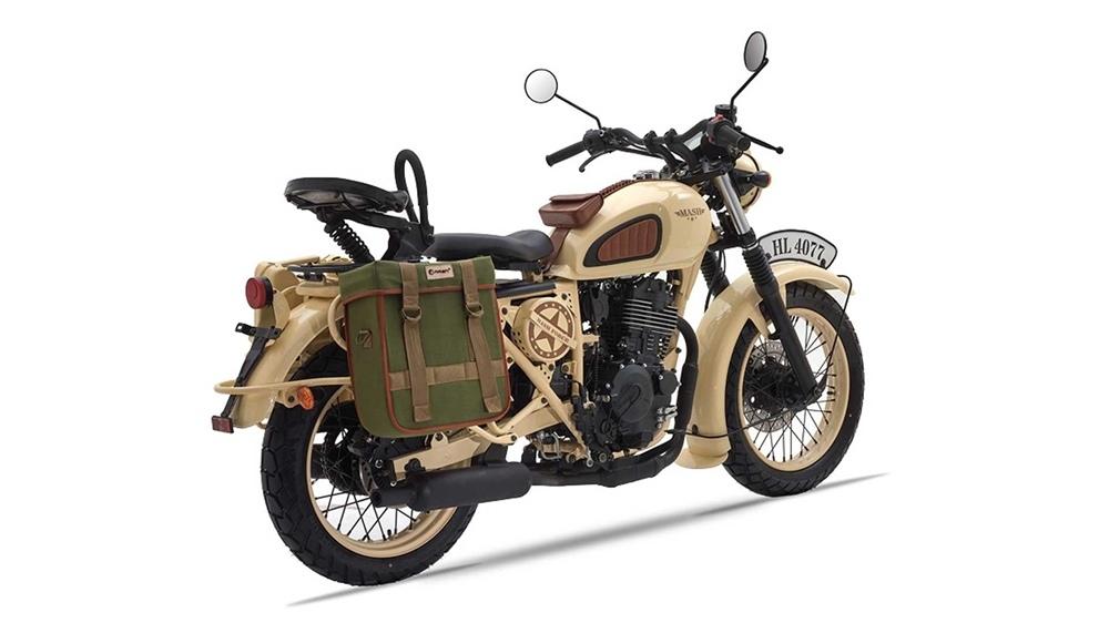 Мотоцикл Mash Desert Force 400 в военном, пустынном стиле