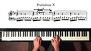 Bach Prelude and Fugue No 10 staccato Well Tempered Clavier Book 1 with Harmonic Pedal