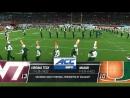 NCAAF 2017 / Week 10 / (13) Virginia Tech Hokies - (10) Miami Hurricanes / 1H / 04.11.2017 / EN