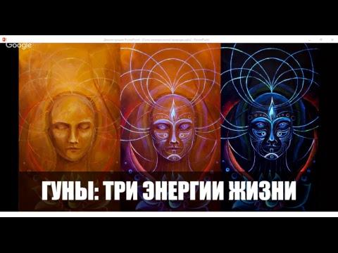 Гуны или три энергии жизни материи Ариан Ахрари