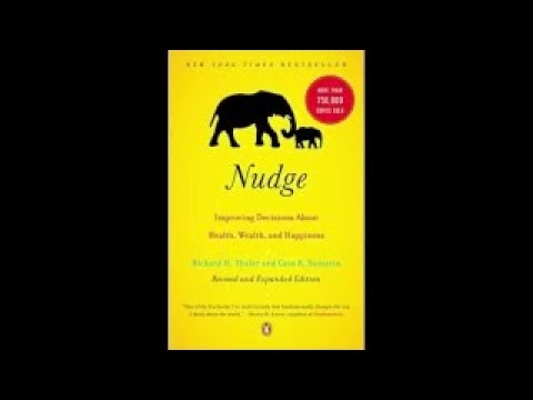AudioBooks Nudge Economic Nobel Prize 2017