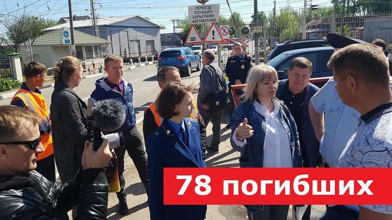Прокуроры балаболы на смертельном переезде в Сергиевом Посаде