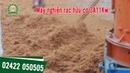 MÁY NGHIỀN RÁC HỮU CƠ 3A11Kw || Máy xử lý rác thải gia đình