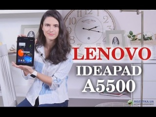 Lenovo IdeaTab A5500: обзор планшета