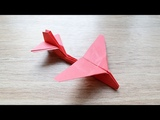 Gift for Father's day How to make an Airplane B-52 Stratofortress ORIGAMI paper Tutorial DIY