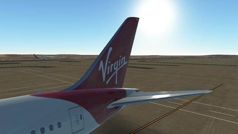 Посадка в аэропорте Лос Анджелес | Boeing 787-9 Virgin Atlantic | Landing at Los Angeles |