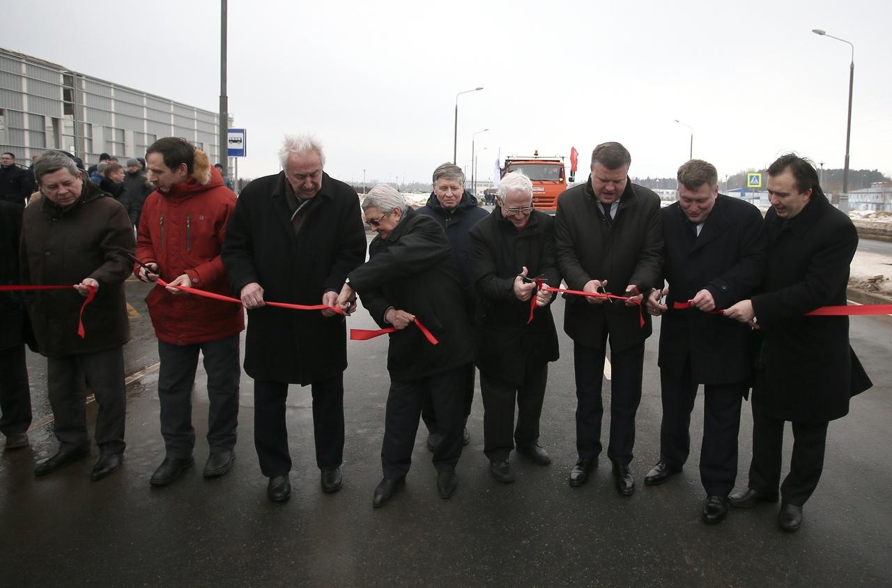 Новая дорога в Дубне соединила Московскую область с Тверской