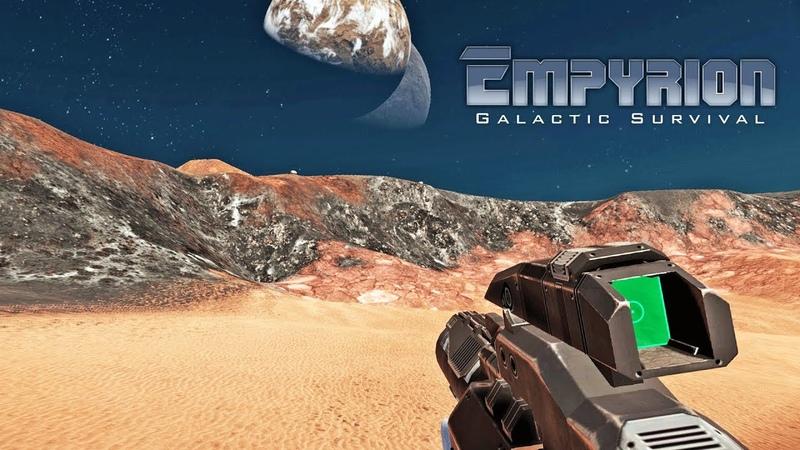 ПЛАНЕТА AESTOX И ЕЕ ЛУНА БОЙ С ДРОНАМИ ► Empyrion Galactic Survival Alpha 8 7