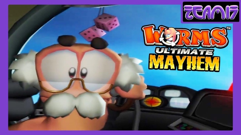 Worms Ultimate Mayhem (2011) All Movies / Cutscenes (re-encoding in FullHD)