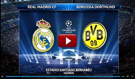 Лига чемпионов, Реал — Боруссия. 30.04.2013. Прямая трансляция из Мадрида