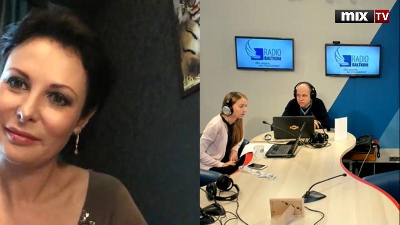 Российская актриса театра и кино Ольга Погодина в программе Абонент доступен MIXTV