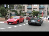 Supercars In Monaco - Silver Enzo, NEW Maserati Ghibli, Radical, Aventador Roadster and more!!