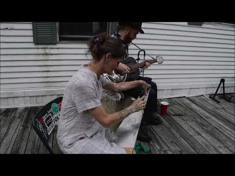Untitled song with musical saw Chris Rodrigues Abby the Spoon Lady