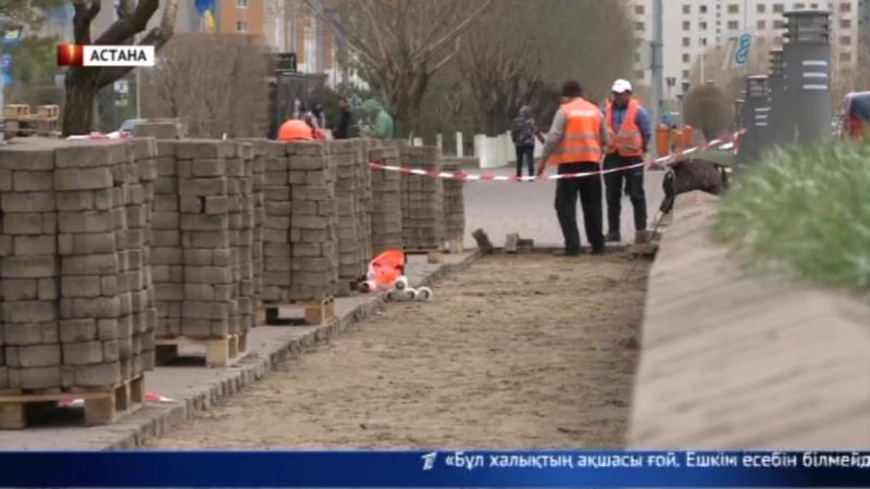 Астананың 20 жылдығы қарсаңында бас қаланың көшелері астаң-кестең болды