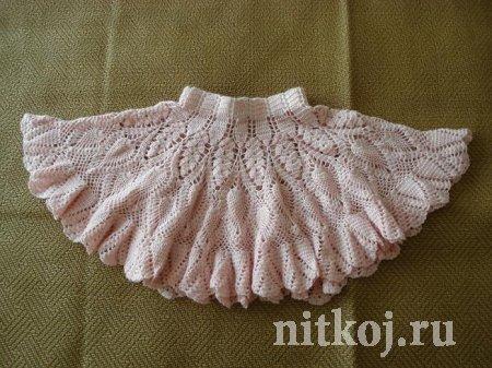 Детская юбка крючком (10 фото) - картинка