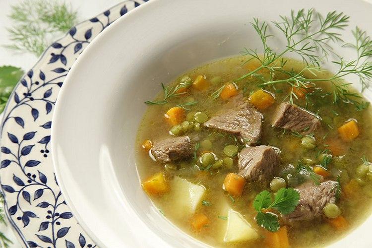 Вкусный мясной супы