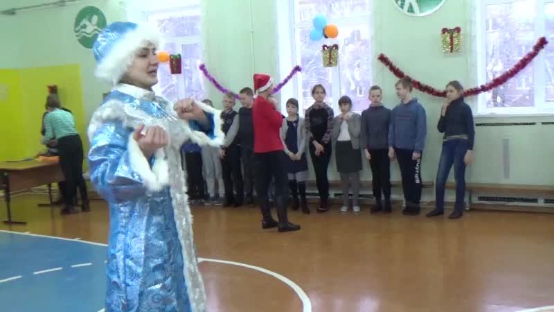 Новый год Совета Молодежи в коррекционной школе