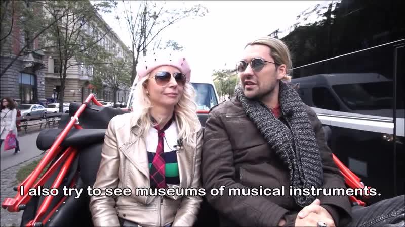 When David Garrett enjoys his time in Budapest Interview Part 1 English opc