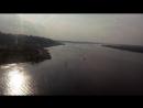 Вид из кабинки Канатной дороги на Волгу...
