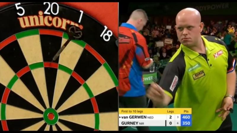 2018 Champions League of Darts van Gerwen vs Gurney