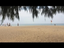 Самолёт на пляже!