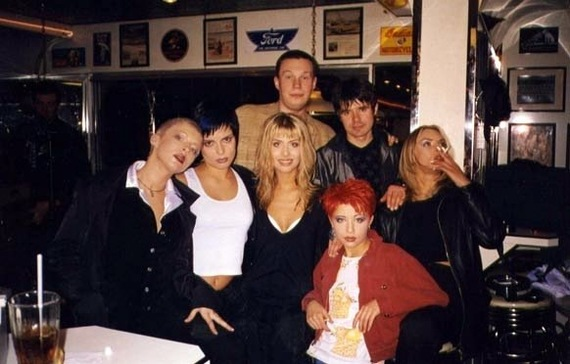 Фотографии 90-х (Известные люди)