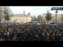 Protest STUDENTI Franta
