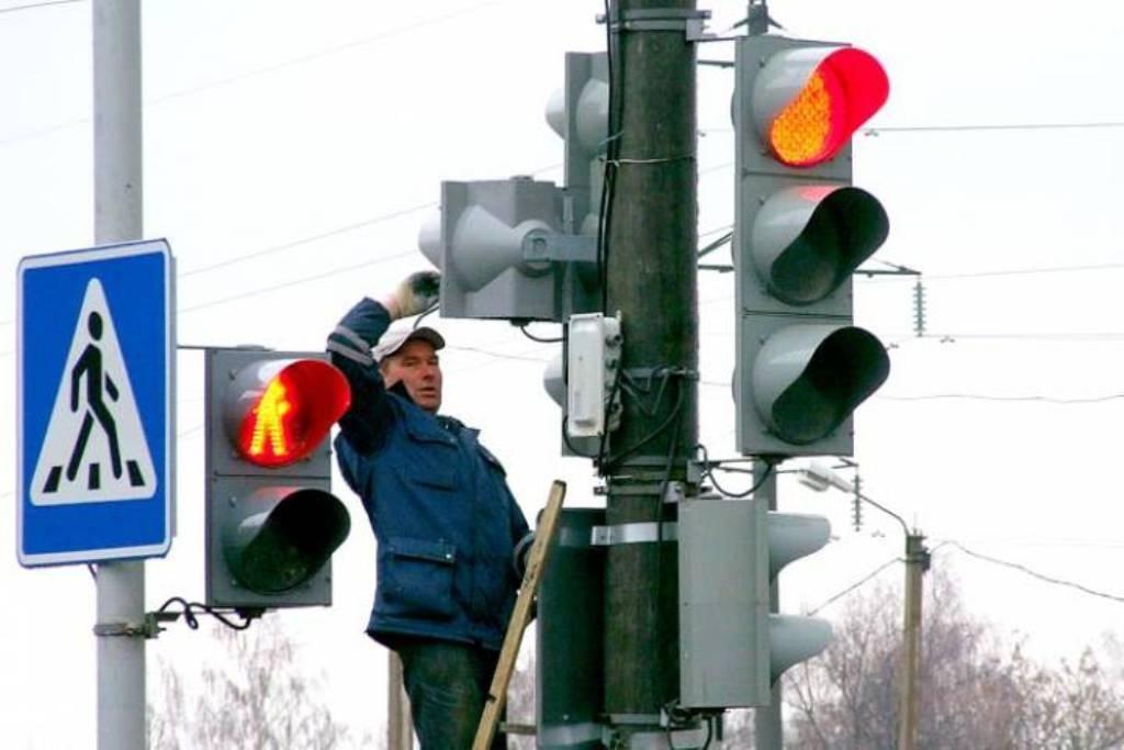 В Таганроге заработают еще четыре новых трехфазных светофора