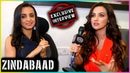 Sanaya Irani And Sana Khan Talks About Their Web Series ZINDABAAD EXCLUSIVE Interview