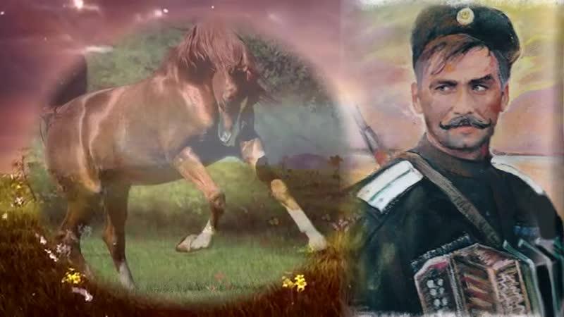 Казачья песня Я за коня готов отдать гармонь