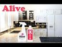 Результаты применения ALIVE безопасных моющих средств для дома