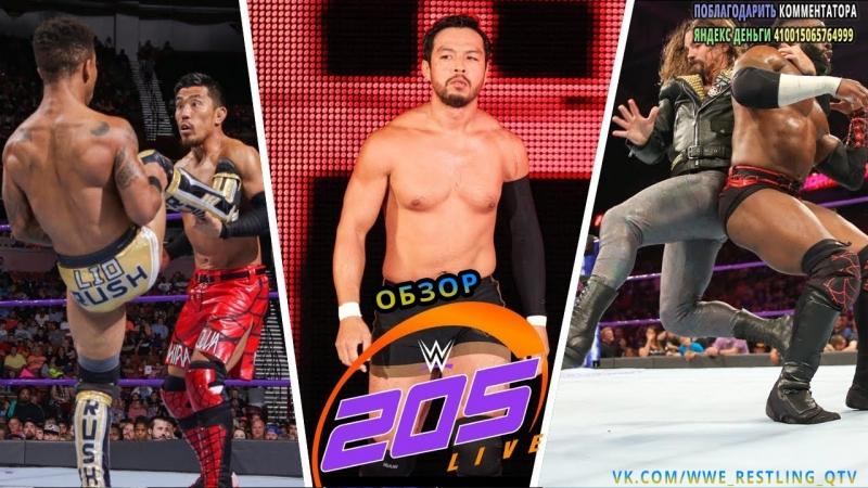 [Wrestling Ukraine]Highlights]WWE 205 Live Highlights 14 August 2018]Огляд Українською]