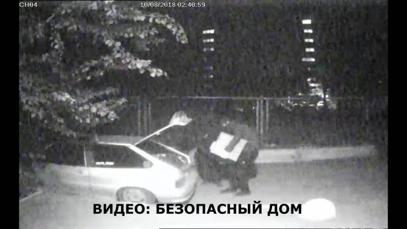 Грабители в масках обчистили машину