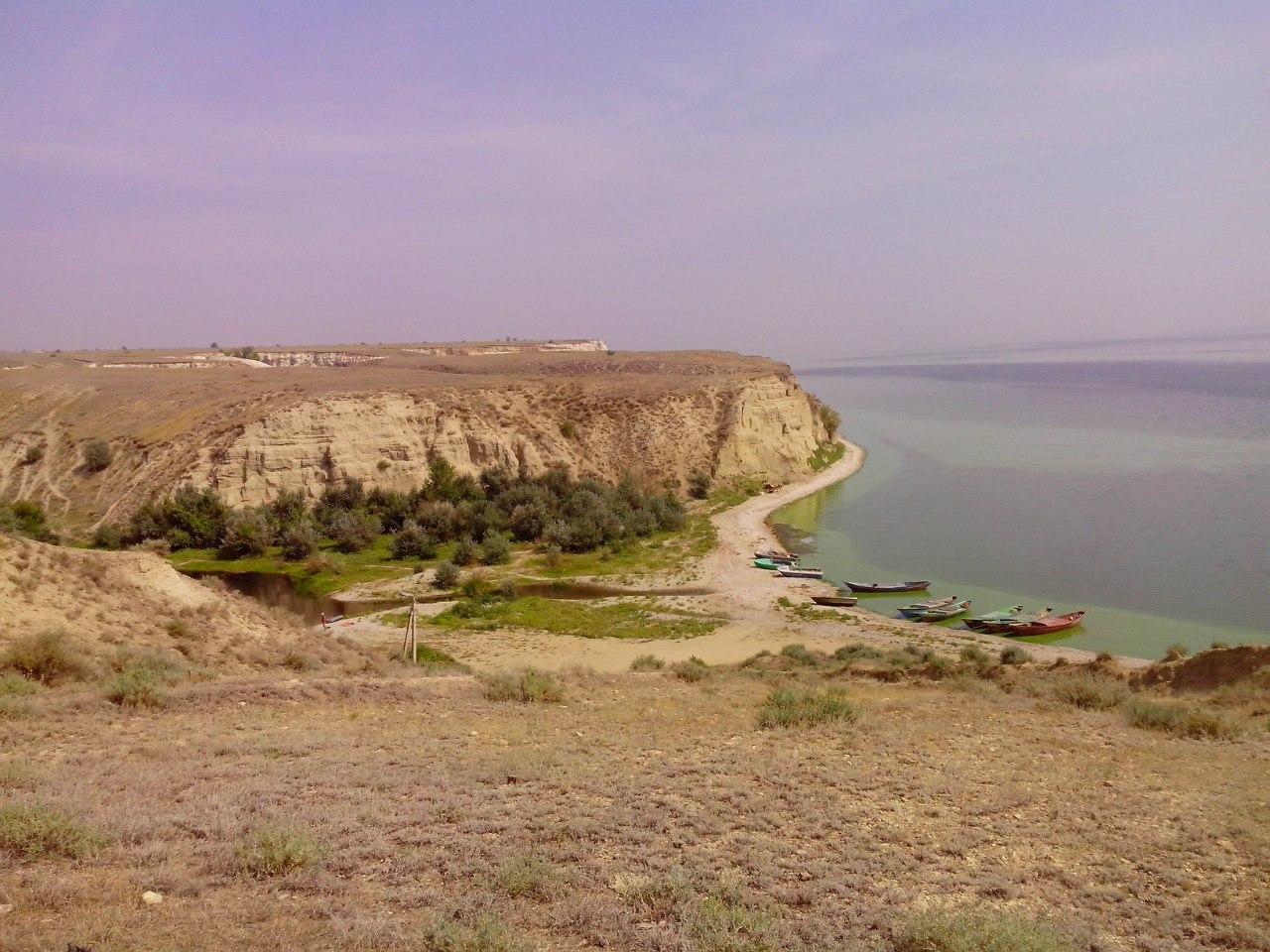 Устье оврага Пустой Банный и залив Банный. Автор фото Роман Кириллов
