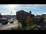 набережная Обводного канала (дрон видео)