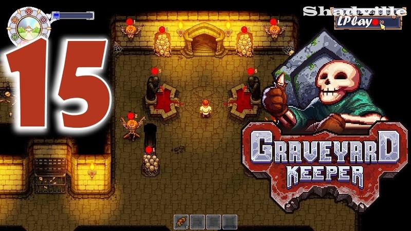 Graveyard Keeper Прохождение 15: Зона жертвоприношений и закусочная » Freewka.com - Смотреть онлайн в хорощем качестве